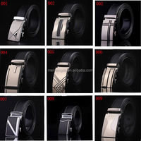 2015 hot new products made in china fashion automatic buckle genuine leather belt for men
