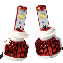 Car accessories 40w H1 H3 H4 H13 9005 9006 V16 turbo led headlight for car led headlamp