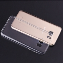 Transparent Cell Phone Cover For Samsung Galaxy S Duos Cover