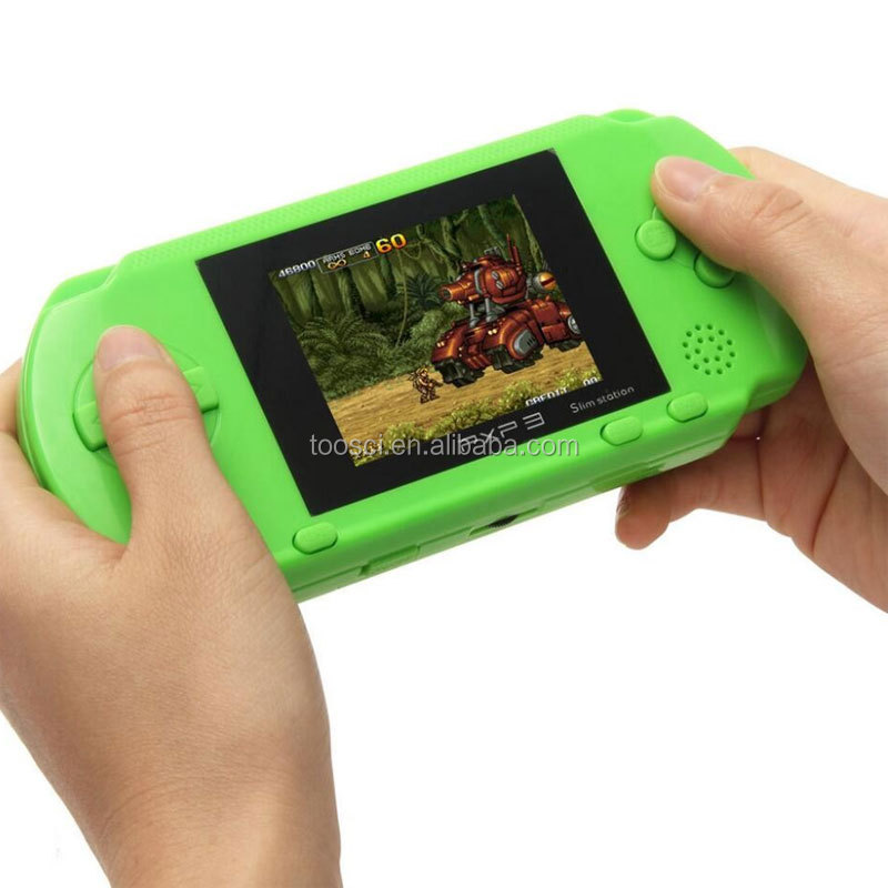 PVP 3000 2.5 Inch 16 Bit Build In 9999 Portable Handheld Slim Digital Pocket Console Games Kid Educational Many Classic Games