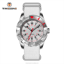 Timezone free regulation buckle with silicon band La moda tipo ocio watch for masculinity