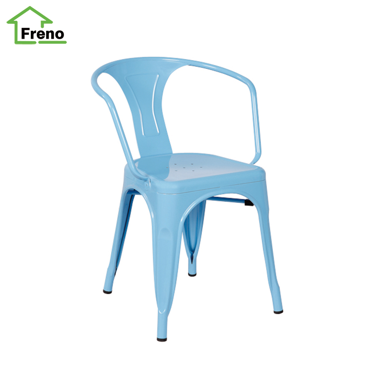 Simple design metal office chair high quality stacking for Y h furniture trading
