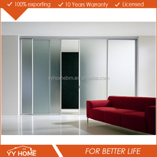 YY Home decorative Interior Glass Door for Kitched, Bathroom and Bedroom