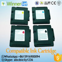 compatible ink cartridge for ricoh gc21 gc31 gc41 inkjet printer