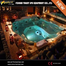 Luxury outdoor spa!Elegance 6 person deluxe balboa outdoor spa hot tub/ozone heating outdoor spa hot tub