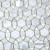 Ming Green Mixed White Carrara Marble Sun Flower Bathroom Wall Tile Mosaic