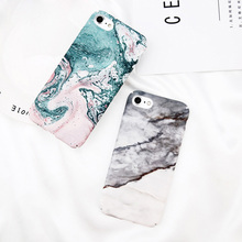 Wholesale New Marble Pattern Hard Plastic Mobile Phone Case For iPhone X 8 8plus 7 7plus 6 6plus 6s