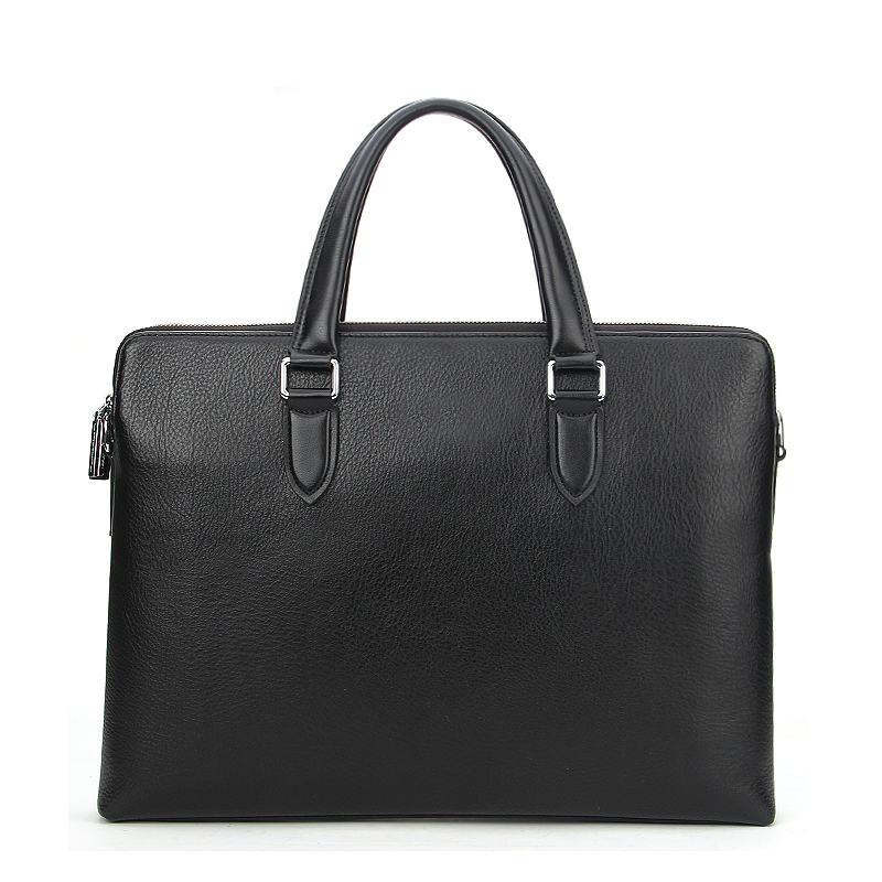 Custom Leather Men's Briefcase Bag Messenger Bag