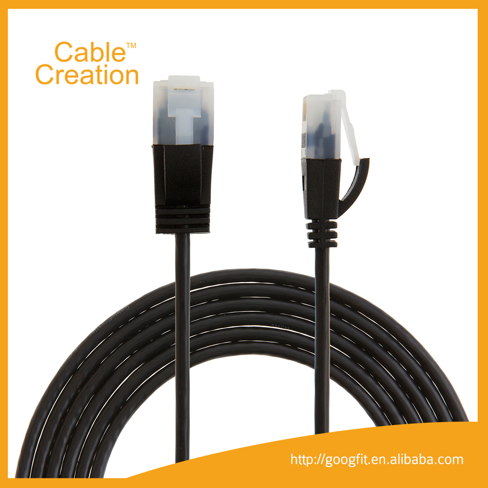 Ultra Slim Cat5e Cat6 Cat6A Cat7 LAN Ethernet Network Cable Patch Cord cable UTP Cat6 Cable