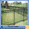 Excellent Fence design Iron fence/Anti-corrosion steel fence gate/Fashionable Aluminum Fence gate