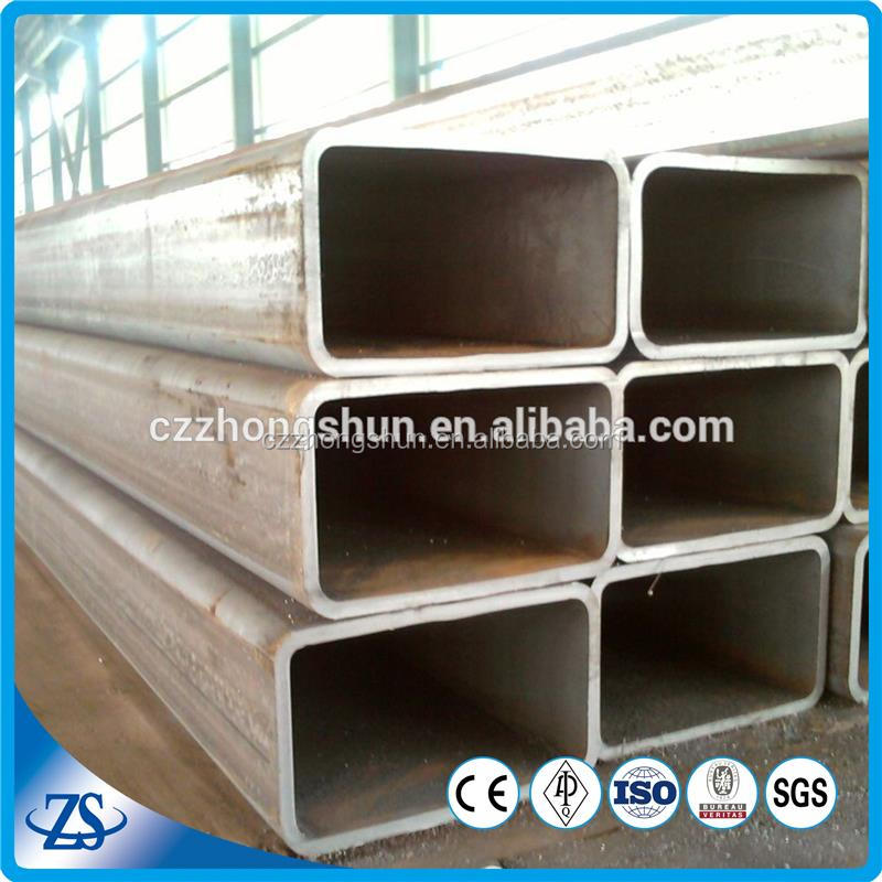 100*200 astm a513 seamless rectangular square steel tubes