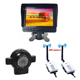 6.5Inch Rearview Monitor Wireless Reversing Back Up Camera Security System For Farm Tractor Combine Harvester