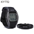 KYTO original 5.3K real time heart rate watch with chest strap