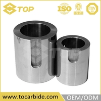 Outstanding wear life silent block bushings, thin-wall tungsten carbide bushing sleev