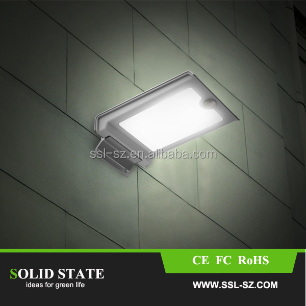 IP65 wall mounted outdoor garden street led eaves lighting solar light