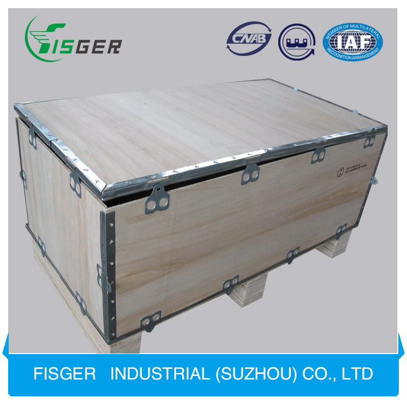 Big Collapsible Wooden Shipping Crate and Plywood Box