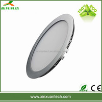 Epistar 12w 180mm flat small round led panel light