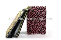 FL1520 2013 GuangZhou NEW Plating tablet Case Cover,Tiger leopard pattern plush veneer case for iPad mini ,grandeur looking