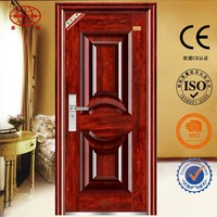 Entry door safety door for apartment use