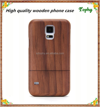 New Real Genuine Walnut Wood Wooden Case Cover For SAMSUNG GALAXY S5 i9600 phone