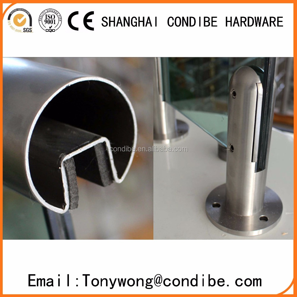 Condibe stainless steel glass fixed spigot/square spigot/glass clamp