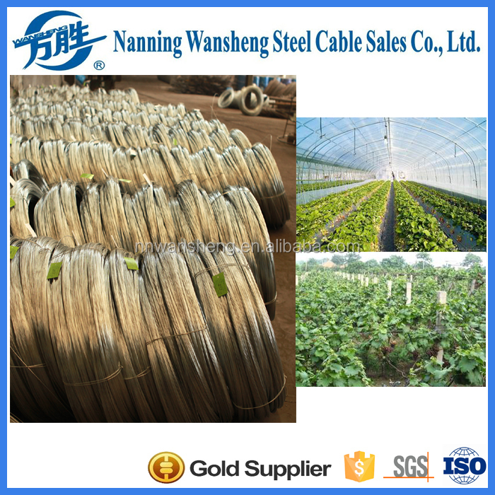 Hot Dipped Galvanized Galfan Steel Wire
