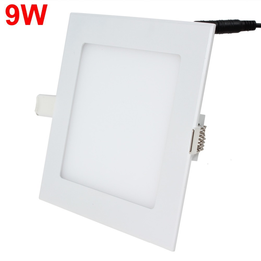 9W LED Panel Light Warm White / White Light Energy Saving Ceiling Lamp