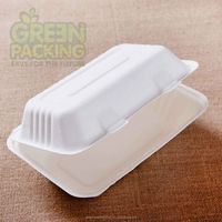 Disposable food container 9''x7'' 1000ml& lunch boxes