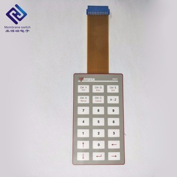 Membrane Switch Control Panel FPC Circuit Integrated Non-tactile Push Button PET/PC/PVC