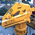 swivel 16ton lifting capacity marine knuckle boom crane from factory