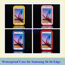 Hot New Products for 2015 Waterproof Cover Case Water/Dirt/Shock Proof Swimming Diving Phone Bag for Samsung Galaxy S6 S6 Edge