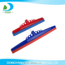 Top sale simple design bright color showy plastic water squeegee