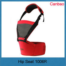 Fashion New Design Hot Selling Hip Seat Baby Carrier Red