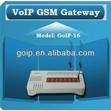 Providing 16 port GSM VoIP Gateway,voip soft switch,GoIP 16