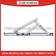 friction stay hinge used for top-hung windows, stainless steel hinge with SS304 or SS201 materials