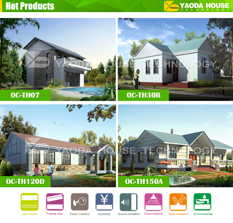 Low cost and modern style house floor plans designs villa