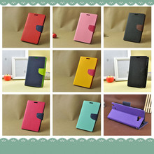 Colorful PU Leather Wallet Flip Case Cover Fundas for HTC One M7 M8 X S Desire 500 Desire 816