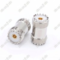 UHF adapter PL259 SO239 female to female jack connector adapter