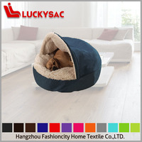 Poly Fur Waterproof Fabric Dog Bed