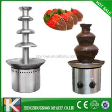 high quality low price stainless steel commercial party electric chocolate tempering fountain machine for sale