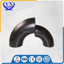 Seamless A234 WPB SCH40 ASME B16.9 45 degree carbon steel pipe elbow