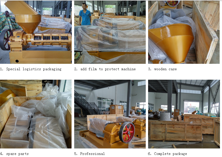 Automatic Sunflower Oil Making Machine  Hot sell oil mill machines in Africa