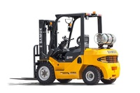 3ton Samuk LPG GAS Forklift Truck with Japan engine