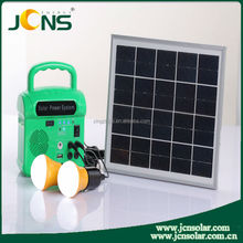 Mini high quality solar ligting system for camping /mobile charging /lighting