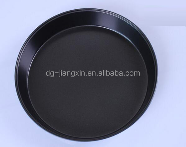 Carbon steel Pizza pan with Non-stick coating from 6/7/8/9/10/11/12 inch