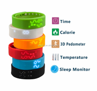 Body fit activity tracker digital 3d usb pedometer
