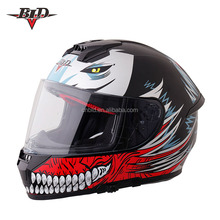 DOT and ECE approved full face motor helmet