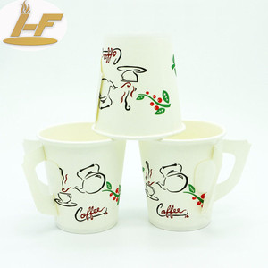 Paper cup lids sleeves double wall paper cup hot paper cup