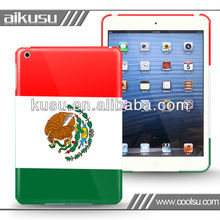 Fashion and smart flag style ipad leather case