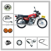 Motorcycle CG125 engine parts /piston/carburetor/cyclinder